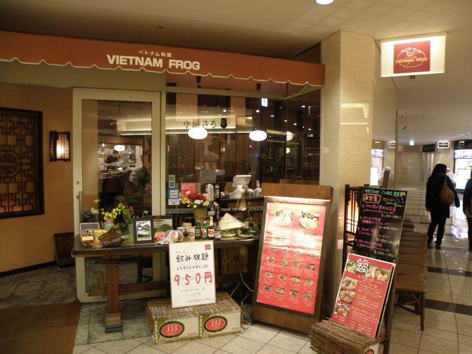 ヘルシーでおしゃれなベトナム料理「VIETNAM FROG」