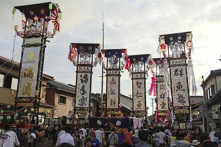 昔ながらの漁師町・石崎町!石崎奉燈祭は毎年8月第1土曜日に開催♪