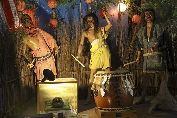 キリコ会館では、能登の文化や習慣についても紹介♪