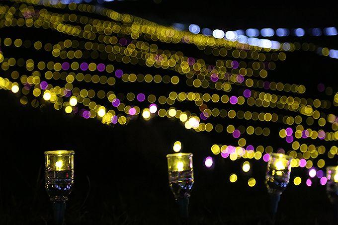 LEDが点灯する瞬間は感動もの!日没時間を確認しよう♪