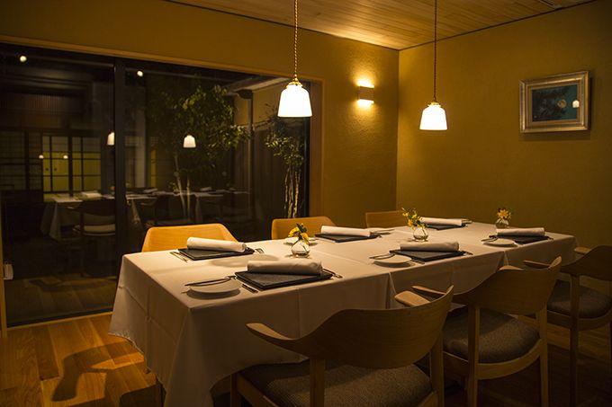古民家を改装したレストラン!和の空間で味わう極上フレンチ♪