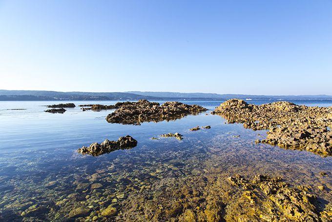 赤崎いちご狩りの後は赤崎海岸でゆっくりとした時間を♪