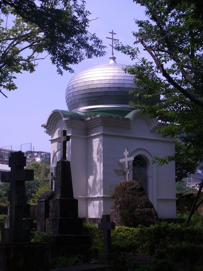 国際交流の舞台さながらの稲佐悟真寺国際墓地
