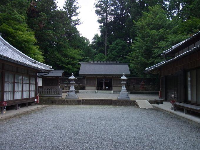 大和の分水嶺・宇太水分神社(下社)