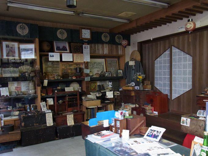 町かど博物館「はなびし庵」(角田酒店)