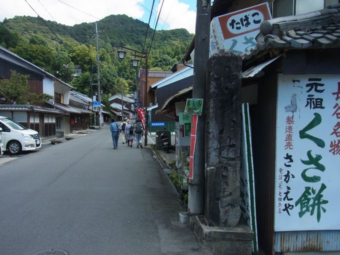 門前町の寄り道でいや増しにたかまる長谷寺への期待感