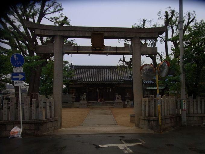 JR八尾駅界隈の渋川、跡部は、物部氏の一大本拠地