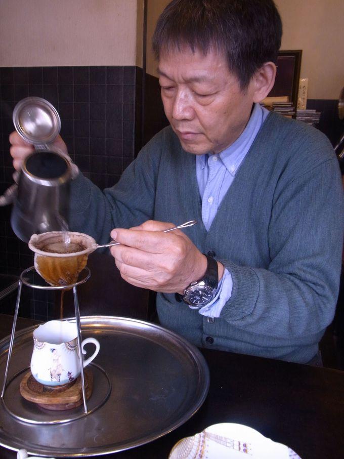 究極のコーヒ—とは「時間」だ