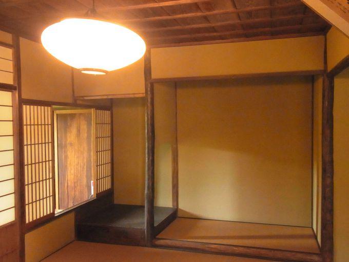 当時の粋を極め、利休をしのばせる茶室『鳳鳴亭』