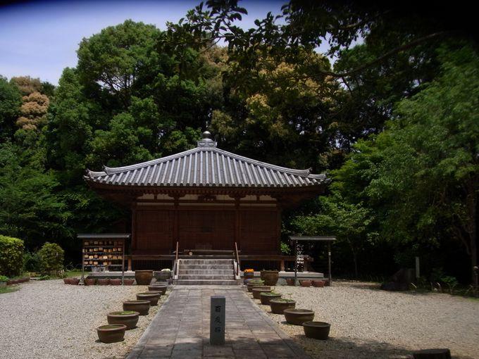 怪僧・行基の墓所のある竹林寺