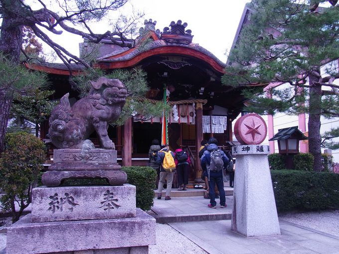 清明神社と並び、方除けで有名な大将軍八神社