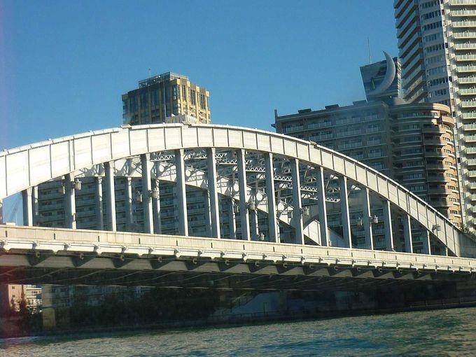 可動式の橋、勝鬨橋(かちどきばし)