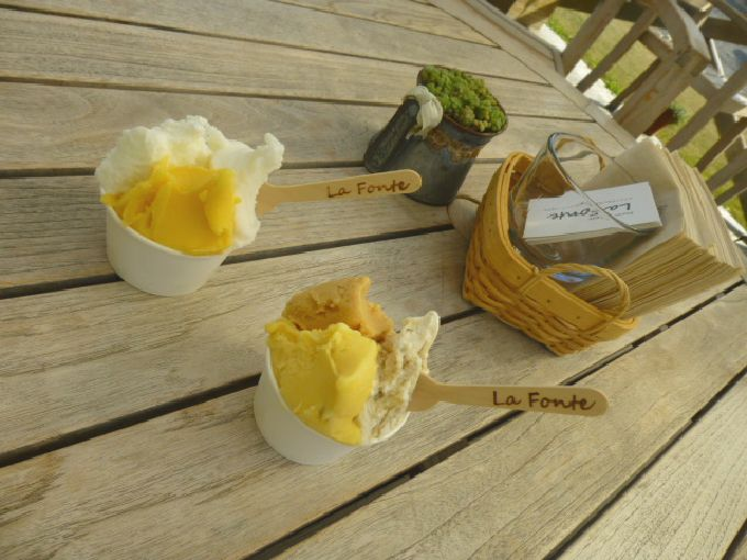おしゃれな木製スプーンで召し上がれ!