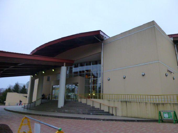 道の駅の温泉宿泊施設「ヴィラ・デ・アグリ」