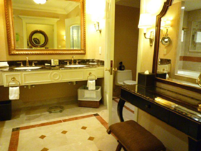 「ベラ・スイート」のバスルーム