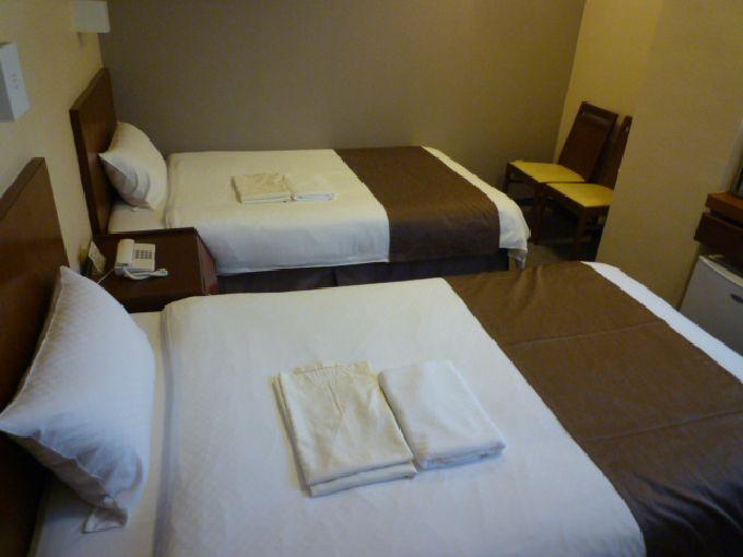 客室はムダのない作り「ホテルロイヤル郡山」