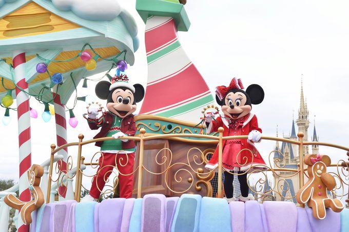 スペシャルパレード「ディズニー・クリスマス・ストーリーズ」