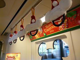 クリスマス期間限定!ディズニーリゾートライン車内や駅のとっておき情報|千葉県|トラベルjp<たびねす>