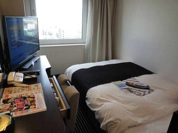 寝心地の良いオリジナルベッドが快適