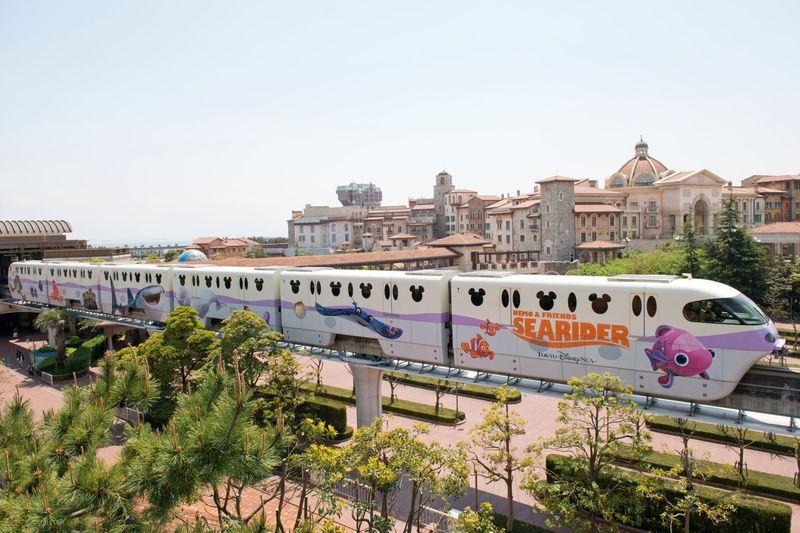 「ニモ&フレンズ・ライナー」海の世界に飛び込もう!東京ディズニーリゾートライン