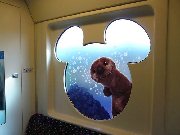 窓の外にも海の世界
