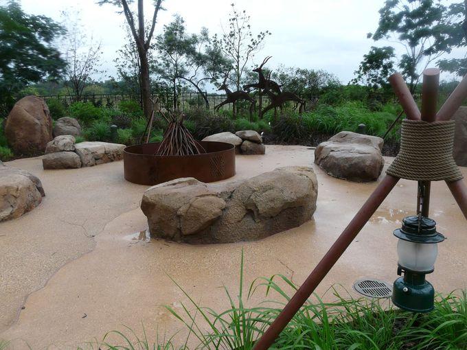 アフリカがテーマ「ラフィキ・ガーデン」