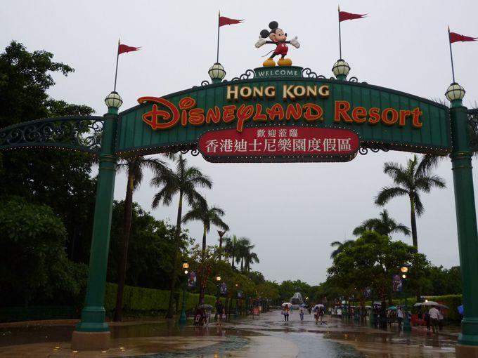 香港ディズニーランドのシンボルといえば