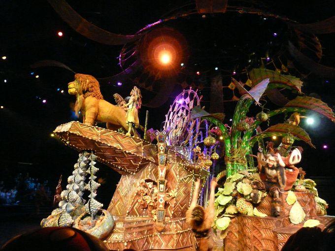 香港ディズニーランドのミュージカルショーを堪能
