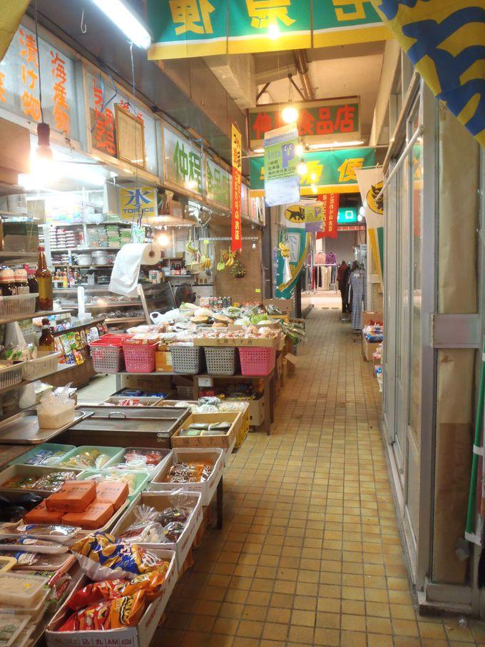 レトロな雰囲気が漂う「ゴヤ中央市場」