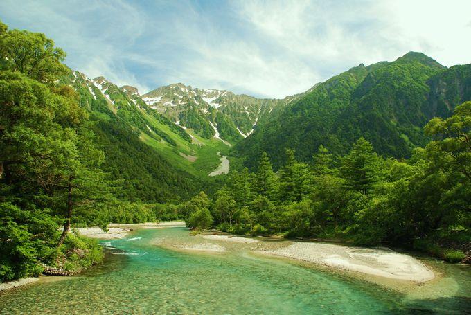 夏休みのお出かけでも大人気!アルプスに囲まれたパワースポット「上高地」(長野)