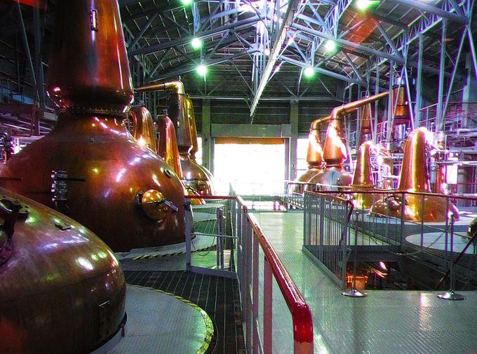 無料でも楽しめる!人気のサントリー白州蒸溜所で大人の工場見学!
