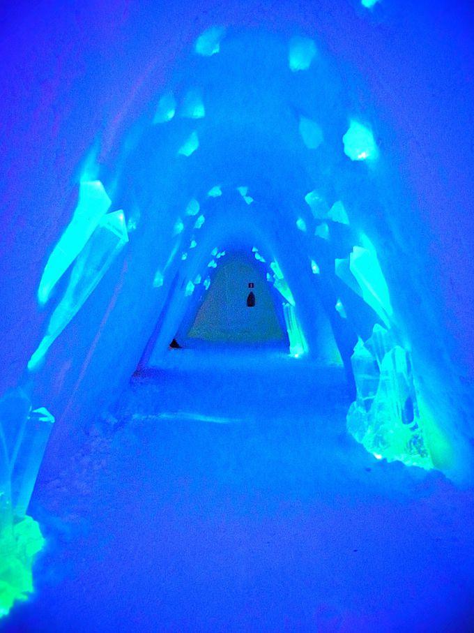 宿泊もできる!氷で出来た神秘のスノー・ビレッジ!
