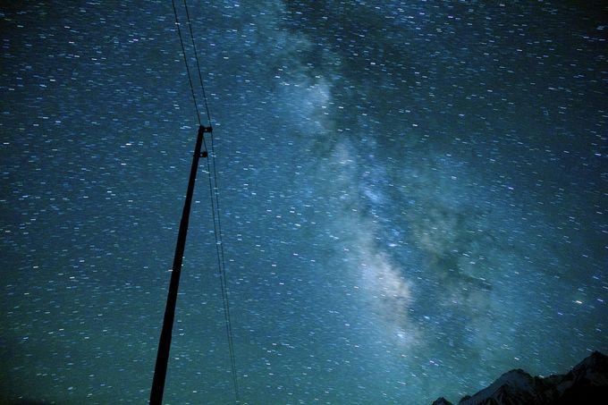 インド一と言われる星空、ここにあり!