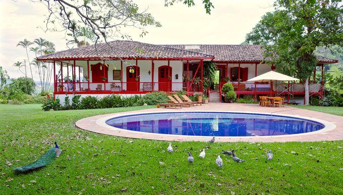 コーヒー農園のど真ん中に泊まれる!「Hacienda Venecia」