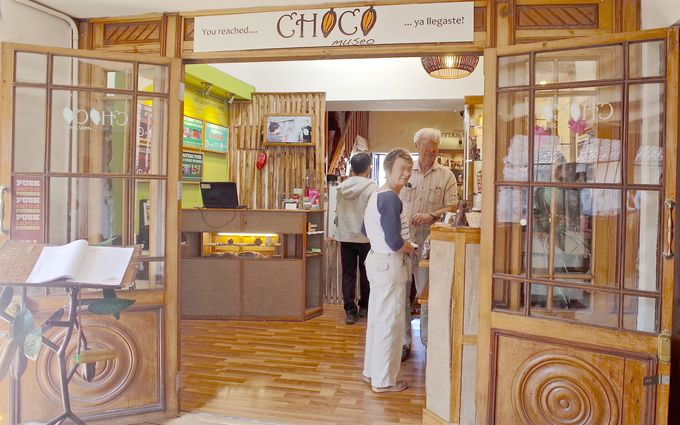 カカオの香りに包まれるチョコレートミュージアム!
