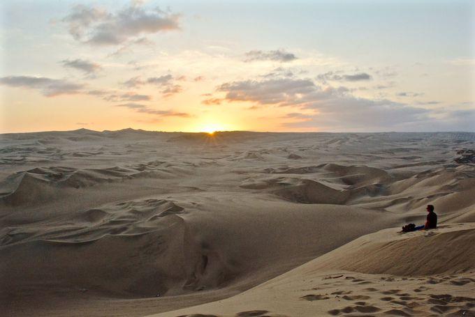 砂漠の夕日を見に行こう!