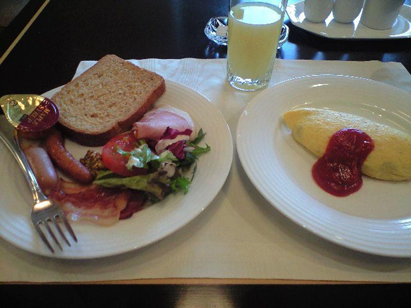 大阪でトップクラス!リーガロイヤルホテルの朝食を堪能!