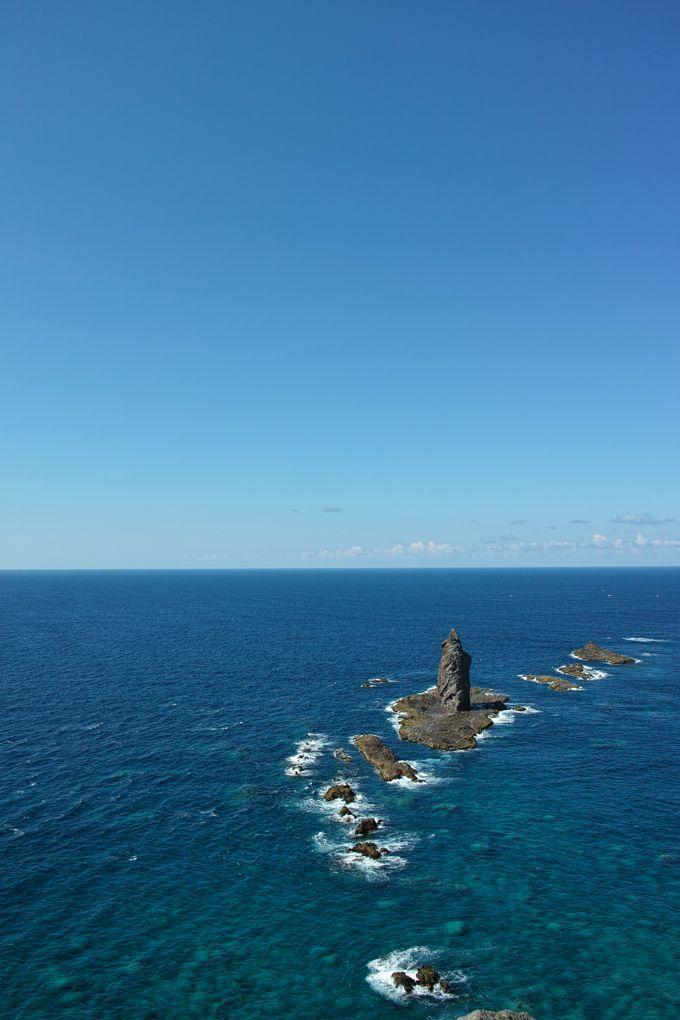 アイヌ語で「神の住む岬」、神威岬は積丹半島屈指のパワースポット!