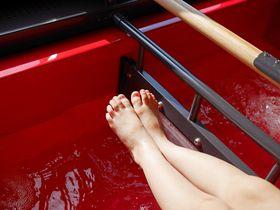 足湯付き!リゾート新幹線「とれいゆつばさ」で山形を湯ったり旅しよう。|山形県|トラベルjp<たびねす>