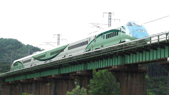 「とれいゆつばさ」は、新幹線初のリゾートトレイン!