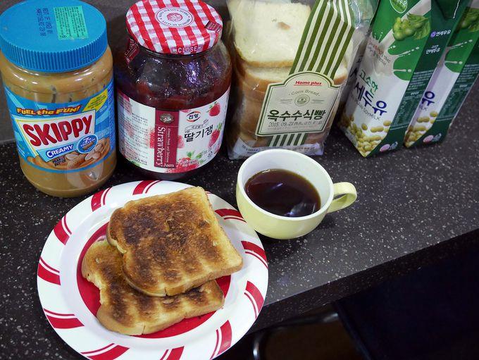 ありがたいけど惜しくない、軽い無料朝食がちょうどいい