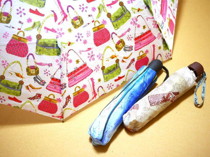 ロシアクオリティでも欲しくなる、かわいい折り畳み傘。