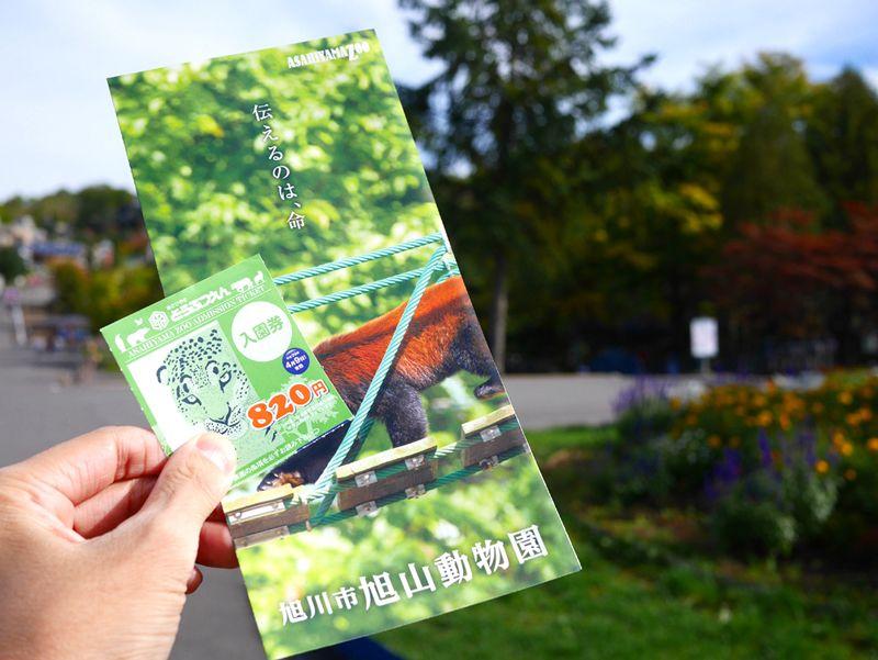 ファミパックプランなら、旭山動物園の入場券付き!
