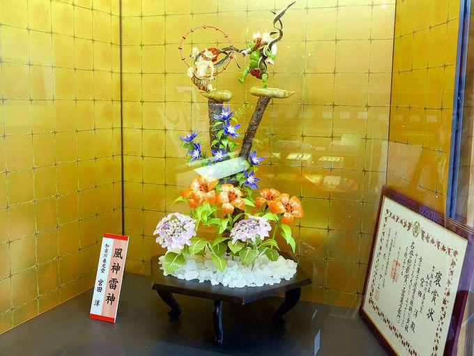 「お伊勢さん菓子博2017」にも招待された、工芸菓子の技術