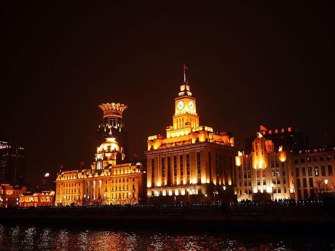 東方明珠塔も外灘も!上海の夜景を満喫できるナイトクルーズ