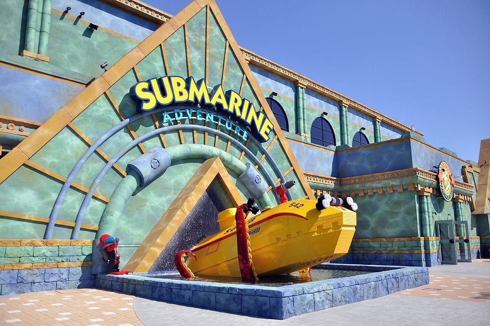 レゴの海底に潜む本物の海の生き物!サブマリン・アドベンチャー