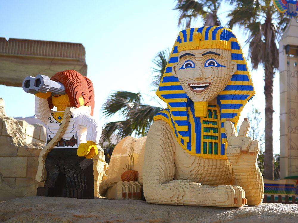 古代エジプトのレゴ(R)・モデルが圧巻の「アドベンチャー」
