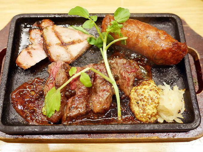 野菜、肉、名古屋めし!美しくボリューミーな一品料理