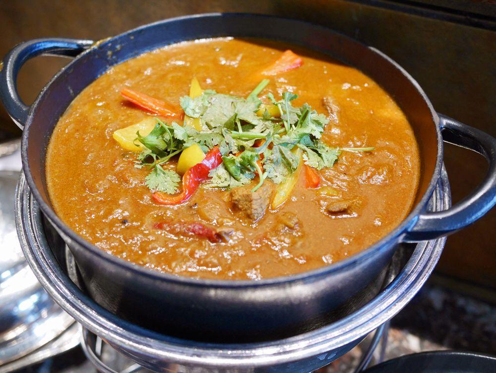 これぞ北インドの味!ラムマサラカレー