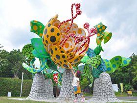 野外アート作品と撮影できる!「鹿児島県霧島アートの森」